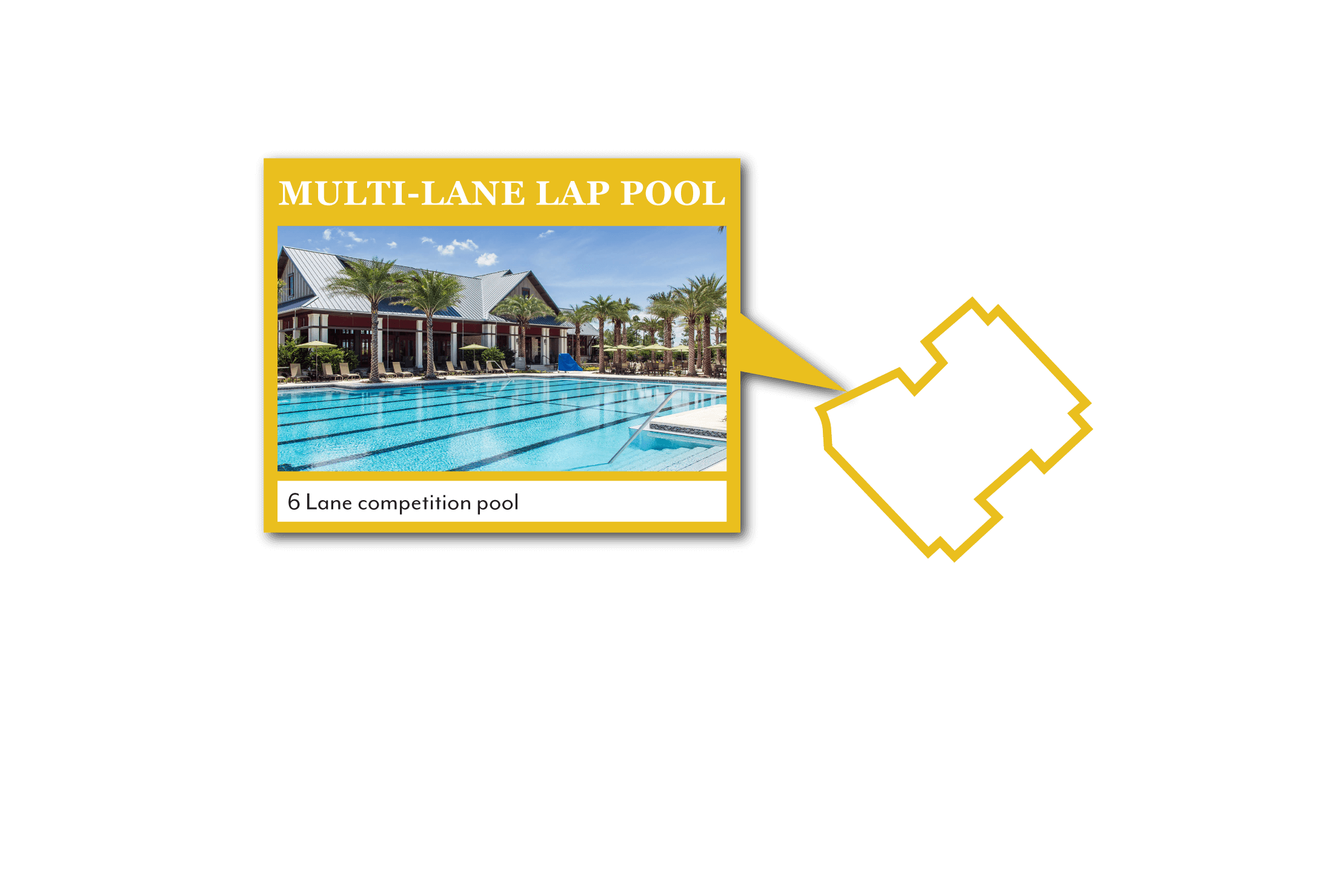 Photo of the Shearwater community Multi-Lane Lap Pool