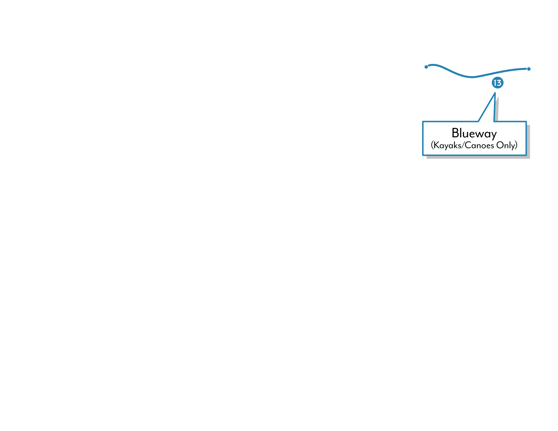 Shearwater graphic depicting the Blueway