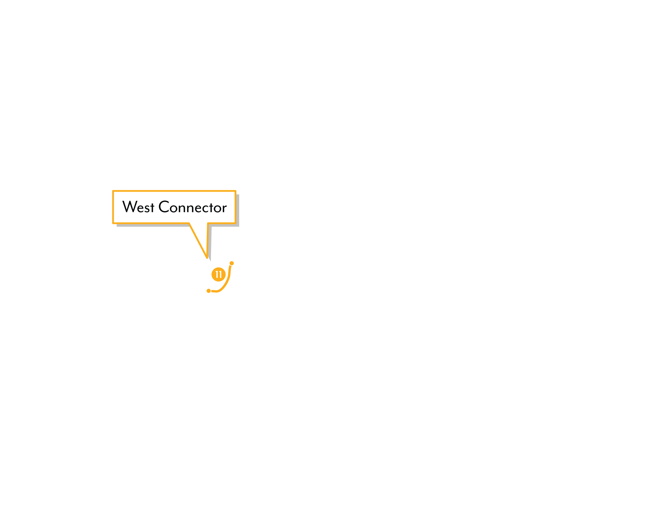 Shearwater graphic depicting the West Connector