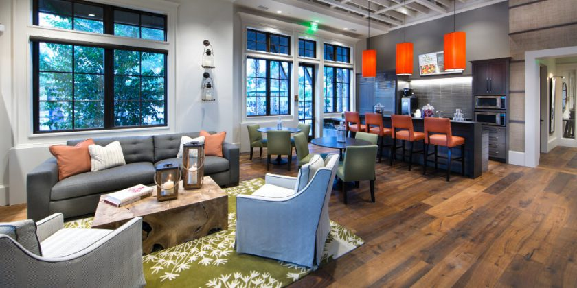 Gathering and Entertaining Spaces at Shearwater