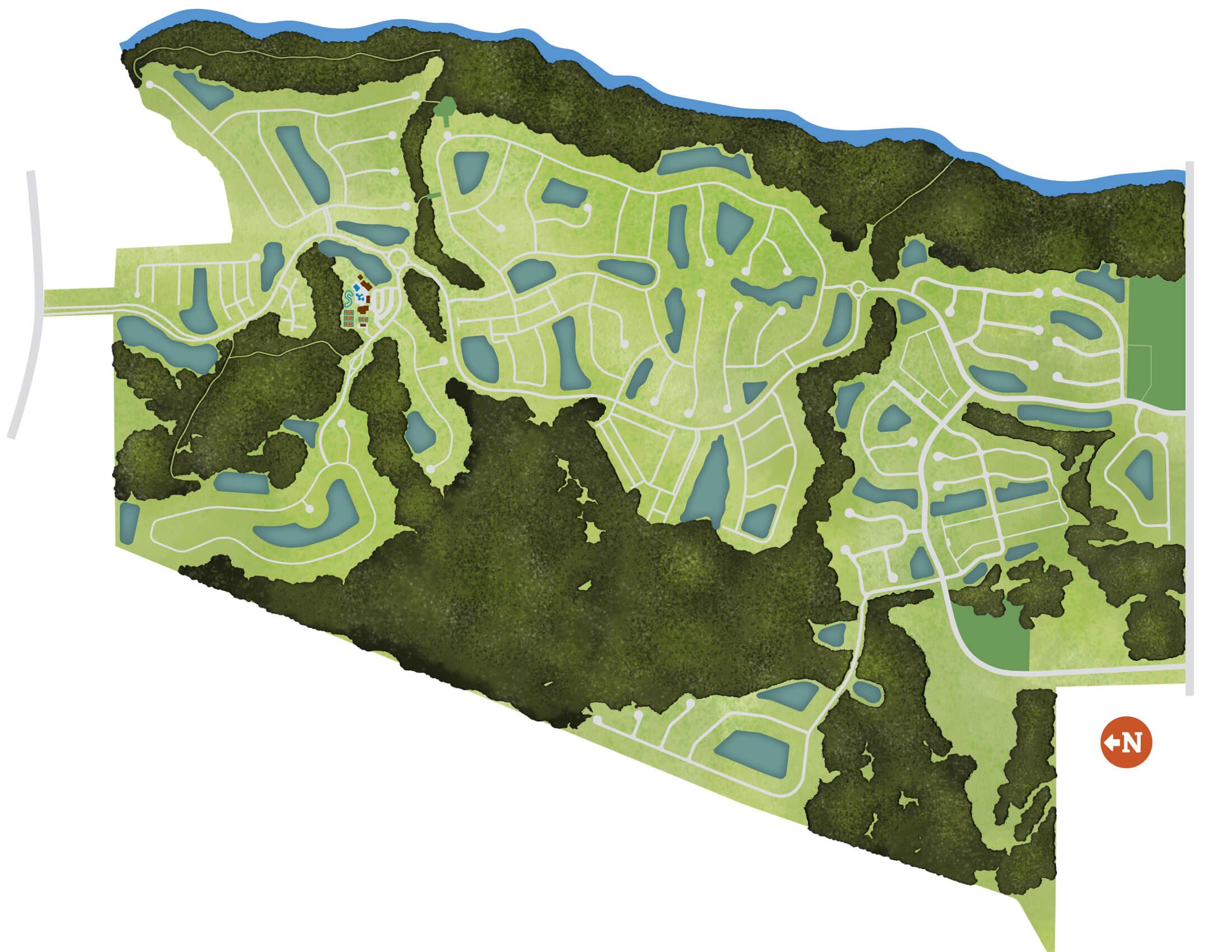 Shearwater site plan illustrative graphic