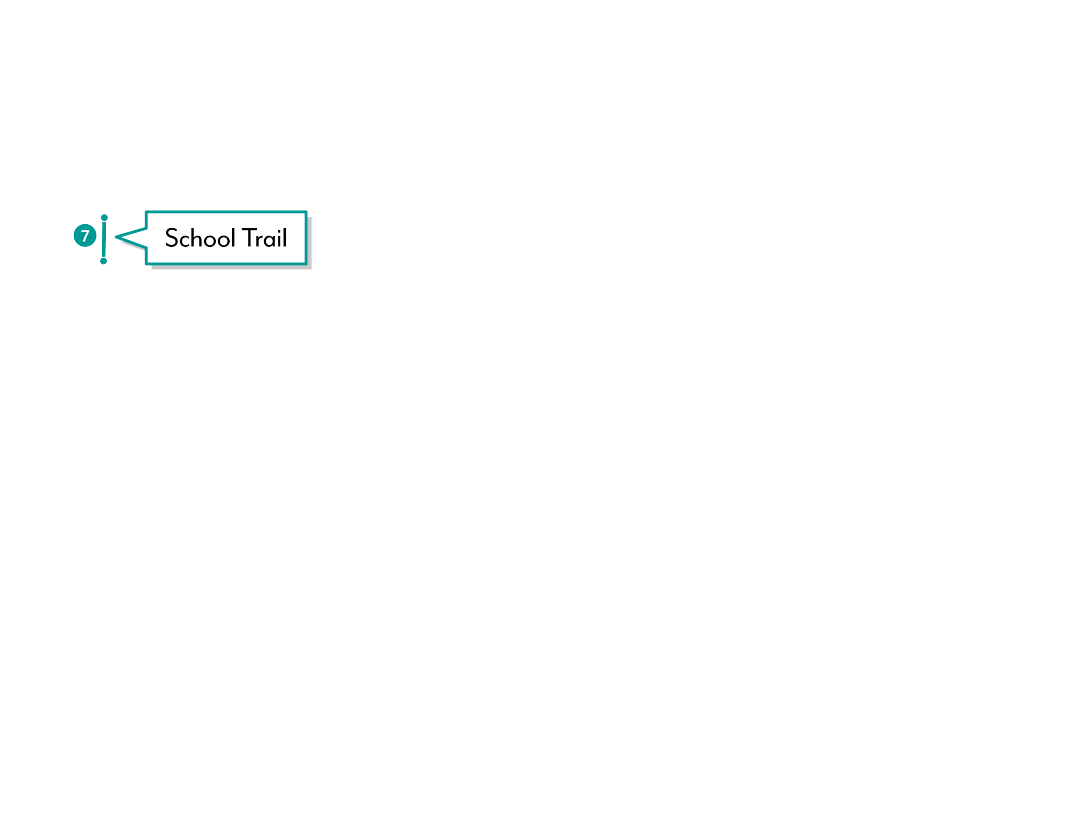 Shearwater graphic depicting the School Trail