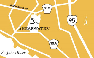 Shearwater New Homes Driving Directions