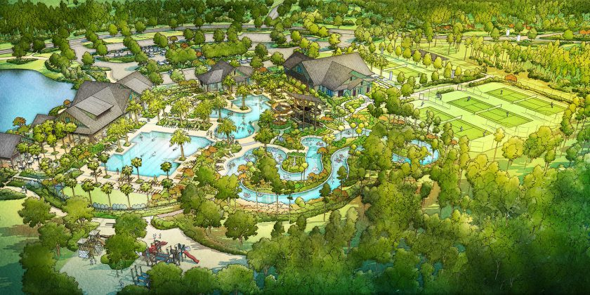 Amenity Center at Shearwater Will Showcase the Kayak Club and Fitness Lodge