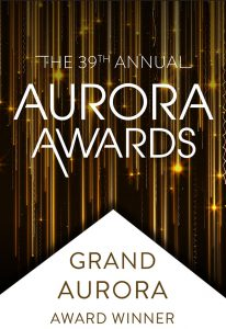 39th Annual Aurora Award Winner