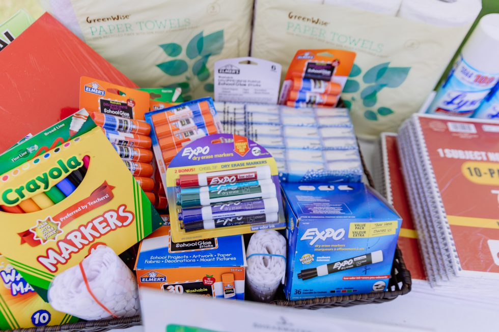 Shearwater Residents Donate Items During Back-to-School Event
